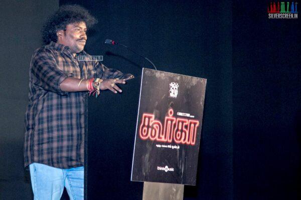 Yogi Babu At The 'Gurkha' Audio Launch