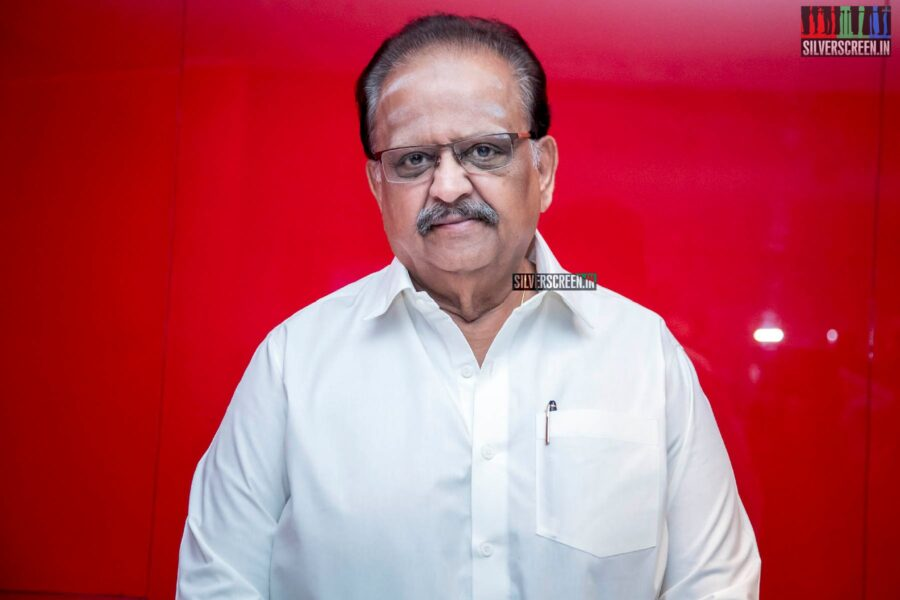 SP Balasubrahmanyam At The 'Gurkha' Audio Launch