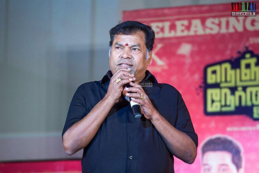 MayilsamyAt The 'Nenjamundu Nermaiyundu Odu Raja' Audio Launch