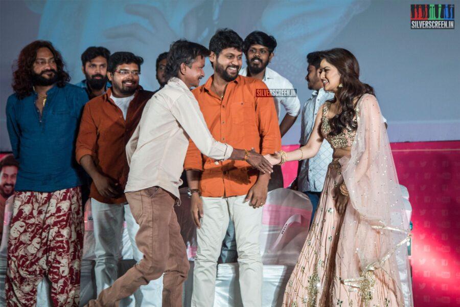Rio Raj, Shirin Kanchwala At The 'Nenjamundu Nermaiyundu Odu Raja' Audio Launch
