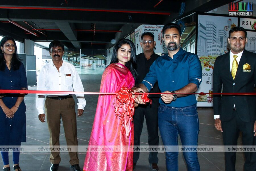 Sneha, Prasanna At The Launch Of 'PVR Cinemas' in OMR, Chennai
