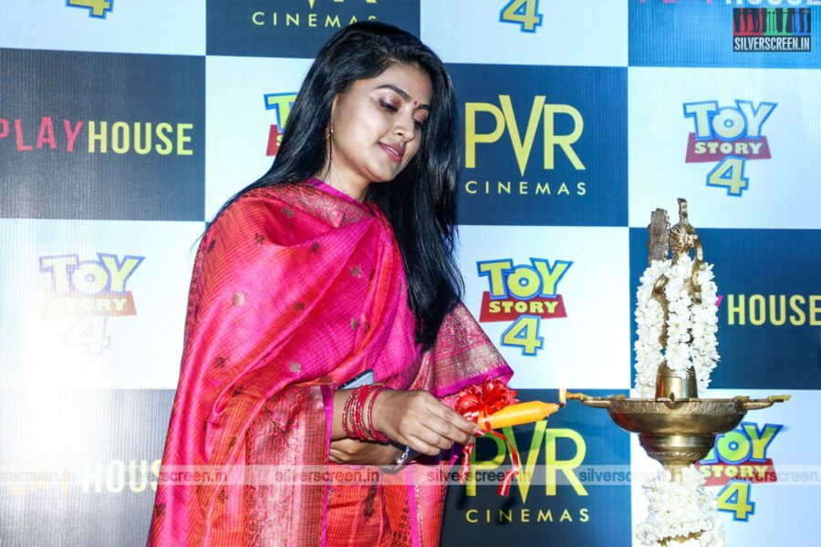 Sneha At The Launch Of 'PVR Cinemas' in OMR, Chennai