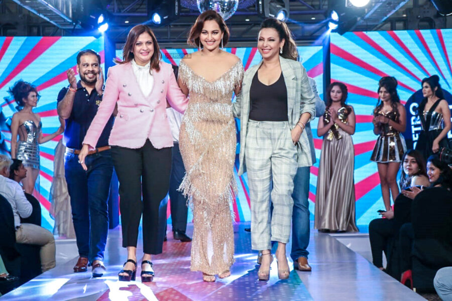 Sonakshi Sinha At The Launch Of The Retro Remix Collection From Streax Professional-A Haircare Product Line