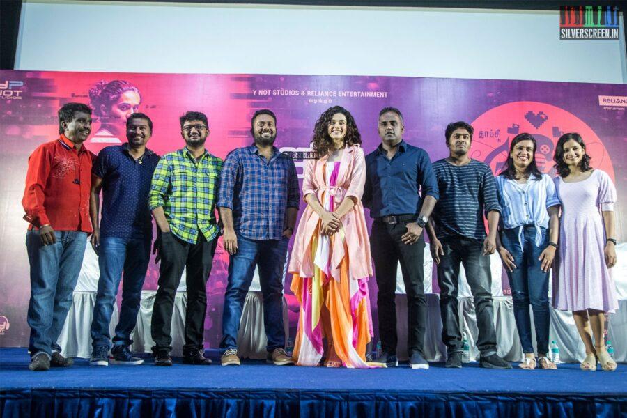 Ashwin Saravanan, Taapsee Pannu At The 'Game Over' Press Meet