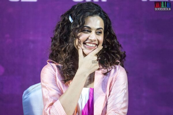 Taapsee Pannu At The 'Game Over' Press Meet