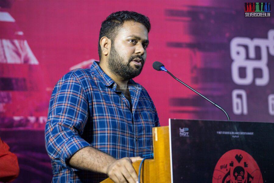 Ashwin Saravanan At The 'Game Over' Press Meet
