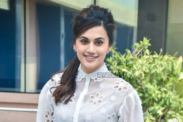 Taapsee Pannu Promotes 'Game Over'
