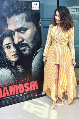 Tamannaah Bhatia Promotes 'Khamoshi'