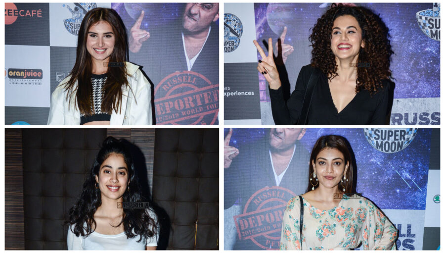 Celebrities At Russell Peters World Tour Event