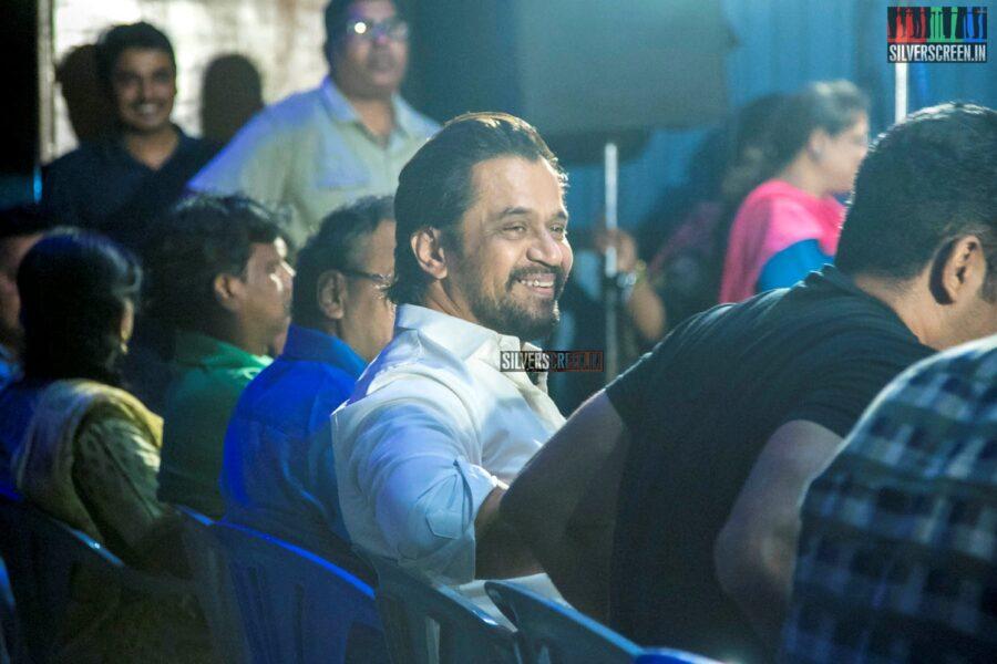 Arjun At The 'Kolaigaran' Success Meet