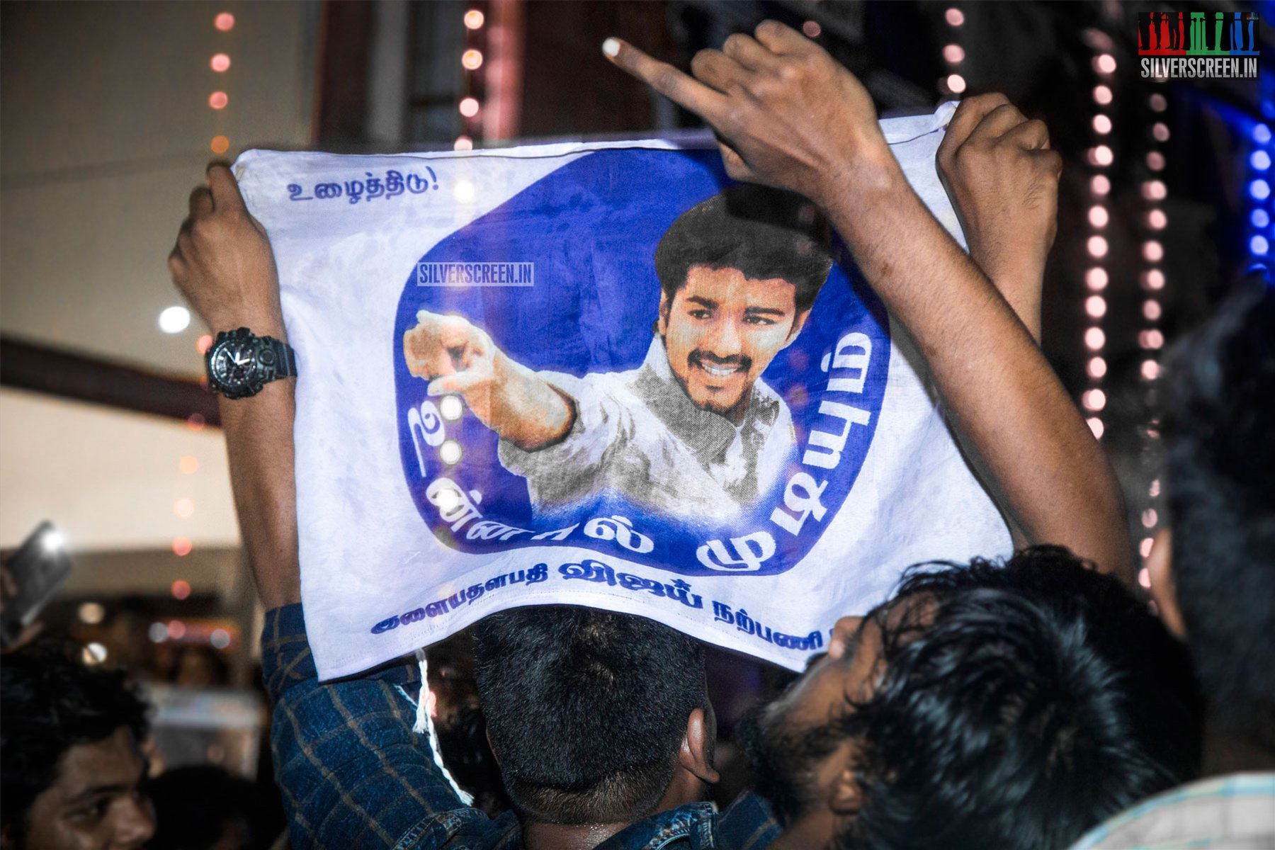 Sarkar First Day First Show Celebration At Rohini Theatre