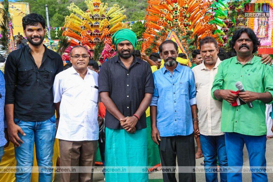 Vijay Sethupathi At A Movie Launch