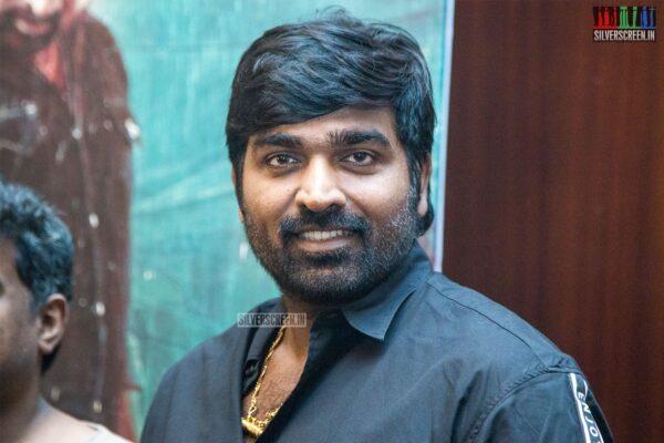 Vijay Sethupathi At The 'Sindhubaadh' Audio Launch