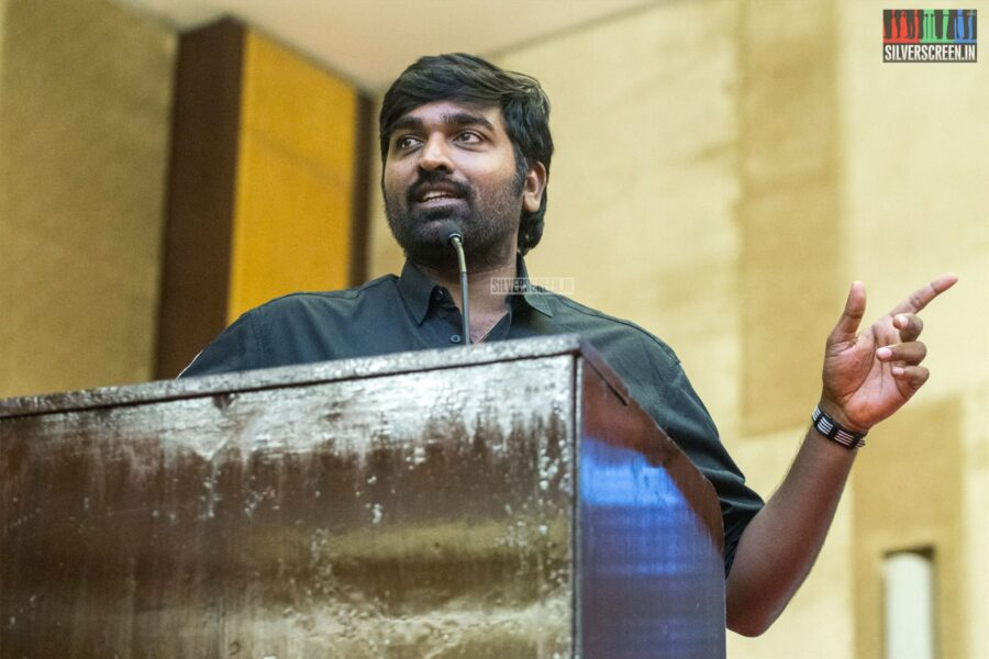Vijay Sethupathi At The 'Sindhubaadh' Audio Launch
