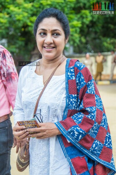 Rohini Votes In Nadigar Sangam Elections