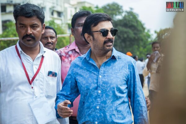 Mohan Votes In Nadigar Sangam Elections