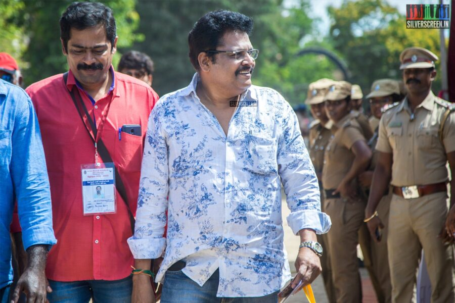 KS Ravikumar Votes In Nadigar Sangam Elections