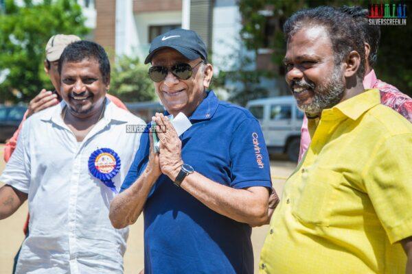 Venniradai Moorthy Votes In Nadigar Sangam Elections