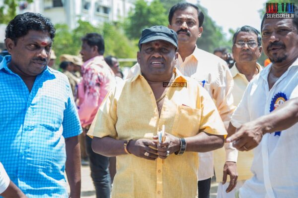 Senthil Votes In Nadigar Sangam Elections