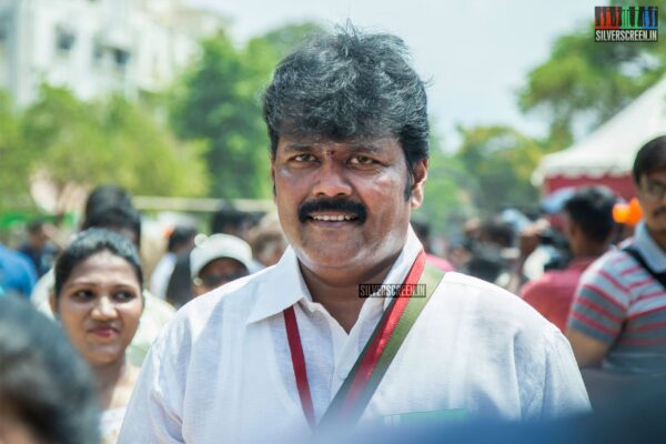 Sriman Votes In Nadigar Sangam Elections