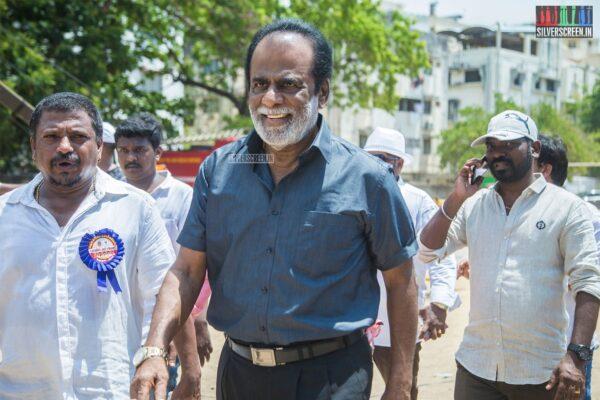 Celebrities Vote In Nadigar Sangam Elections