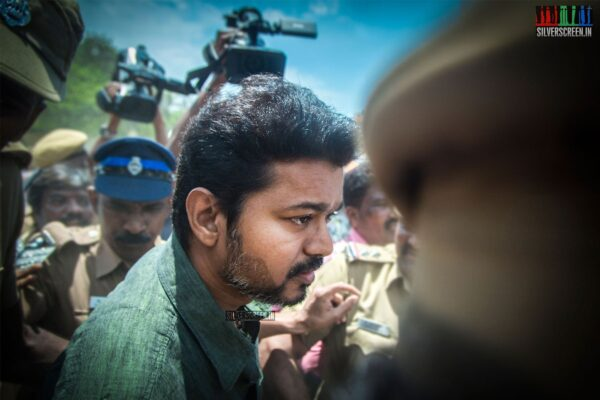 Vijay  Votes In Nadigar Sangam Elections