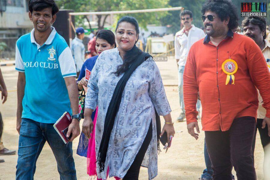 Shakeela Votes In Nadigar Sangam Elections