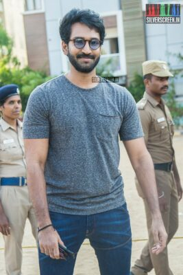 Aadhi Votes In Nadigar Sangam Elections
