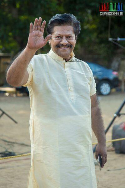 Rajkiran Votes In Nadigar Sangam Elections