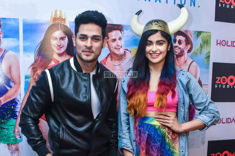Adah Sharma Promotes 'Holiday' Web Series