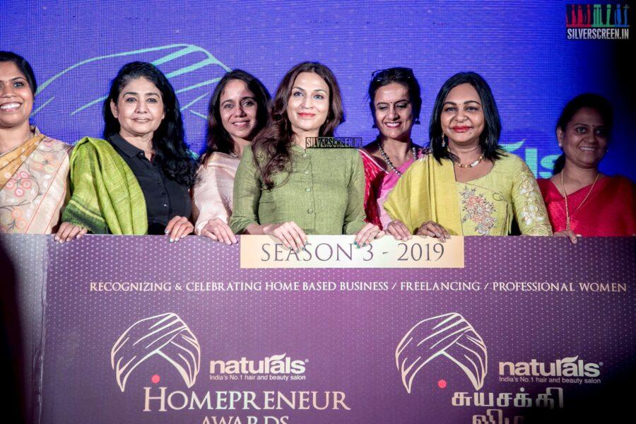 Aishwarya Dhanush, Hema Rukmani At The 'Homepreneur Awards Suyasakthi Virudhugal 2019' Launch
