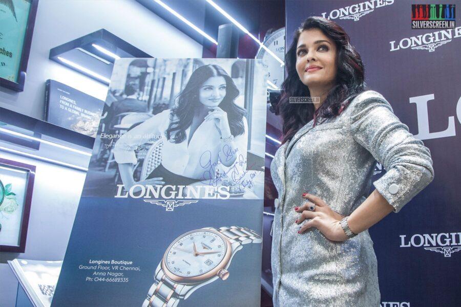 Aishwarya Rai At The Longines Boutique Launch