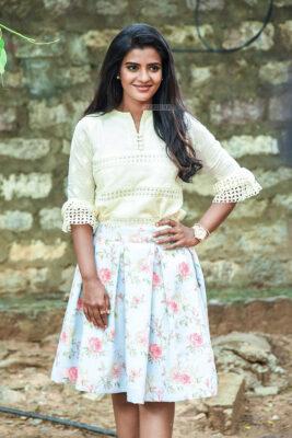 Aishwarya Rajesh Promotes 'Kousalya Krishnamurthy'