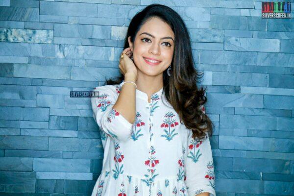 Anya Singh Promotes 'Ninu Veedani Needanu Nene'