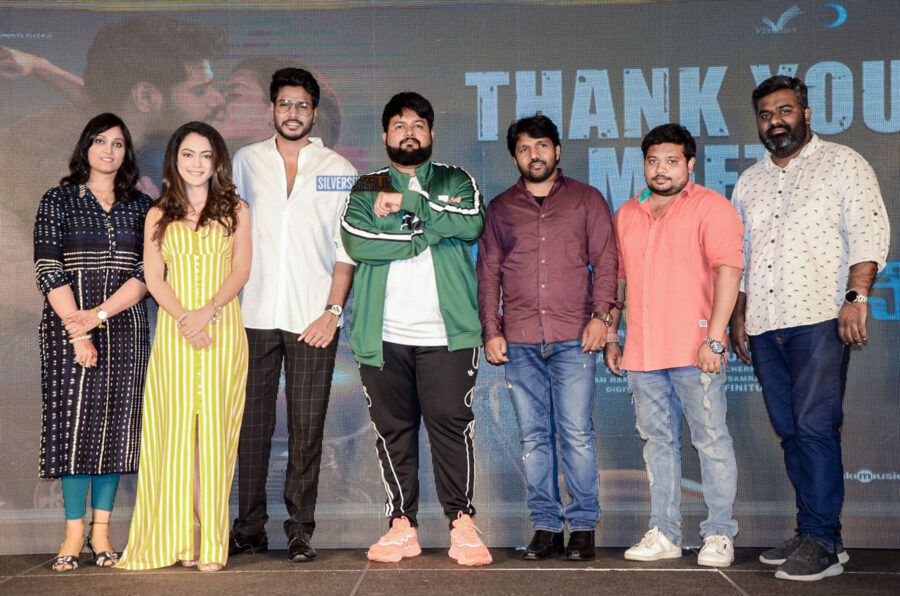 Anya Singh, Sundeep Kishan At The 'Ninu Veedani Needanu Nene' Thanks Meet