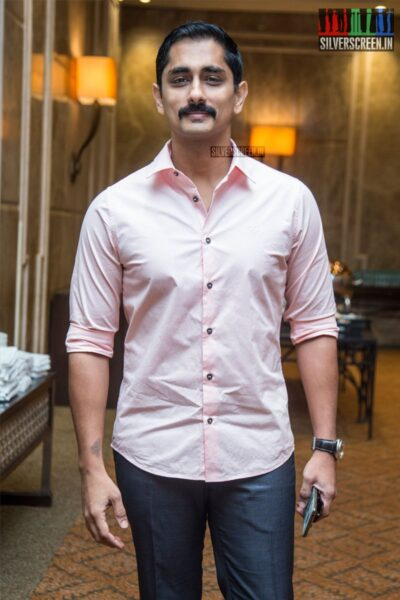 Siddharth At The 'The Lion King' Trailer Launch