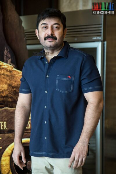 Arvind Swami At The 'The Lion King' Trailer Launch