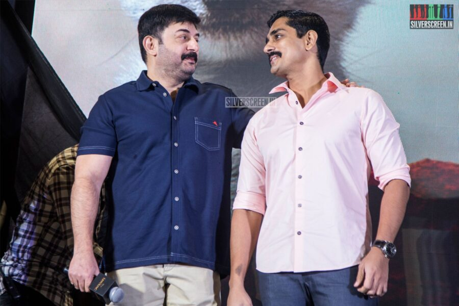 Arvind Swami, Siddharth At The 'The Lion King' Trailer Launch