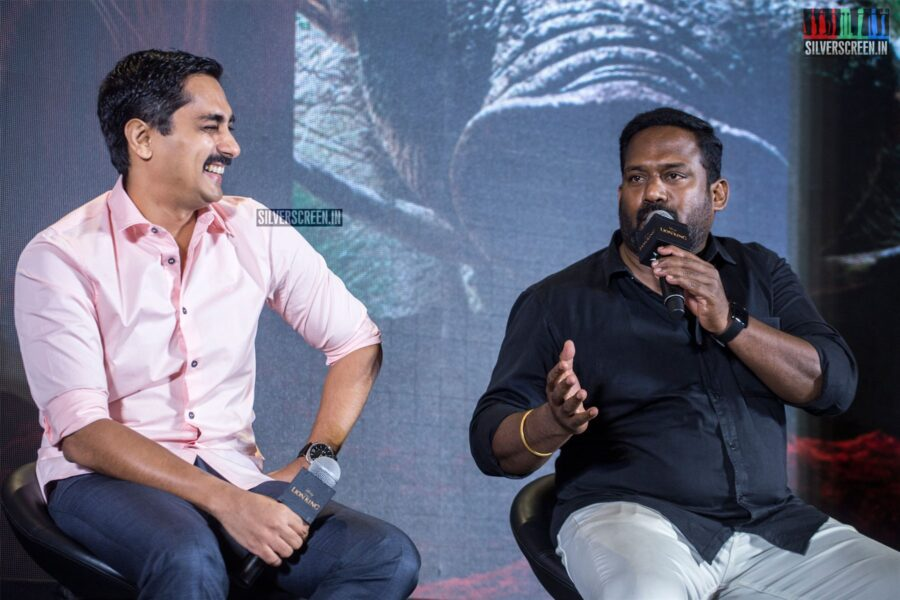 Robo Shankar, Siddharth At The 'The Lion King' Trailer Launch