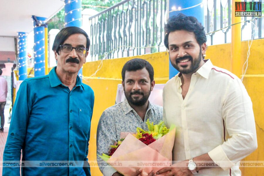 Karthi, Manobala, Dinesh Attend Cine & TV Dancers & Dance Directors Association's Event