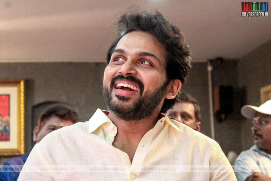 Karthi Attends Cine & TV Dancers & Dance Directors Association's Event
