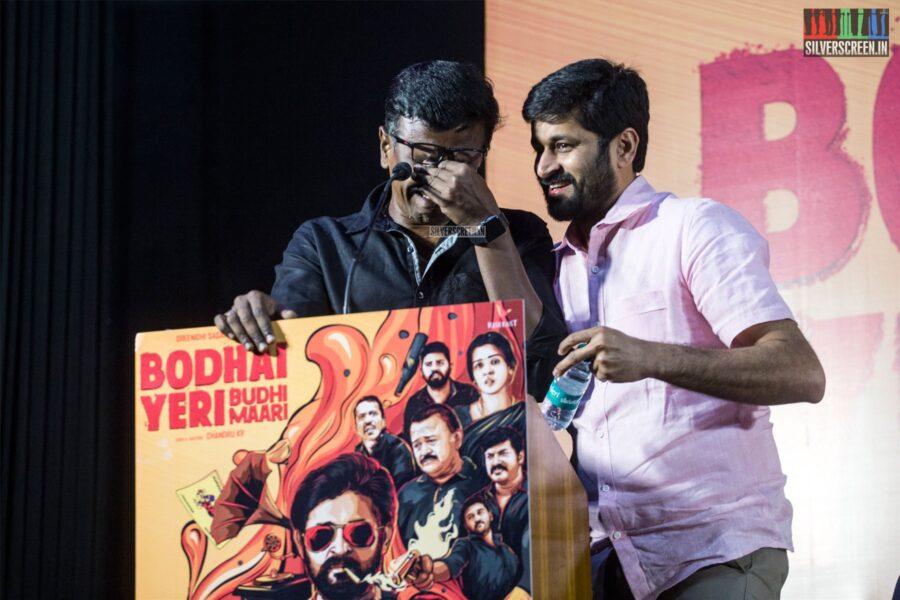 Celebrities At The 'Bodhai Yeri Budhi Maari' Press Meet