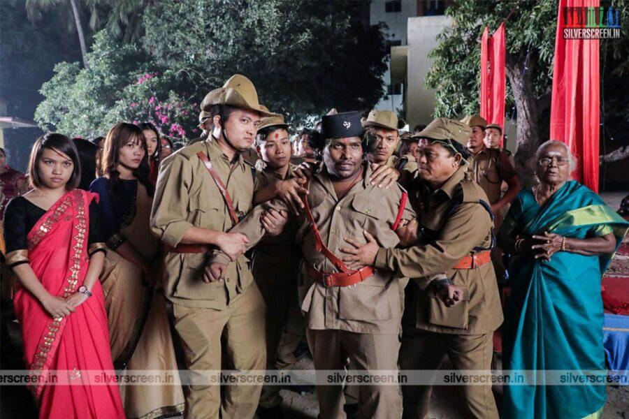 Gurkha Movie Stills Starring Yogi Babu