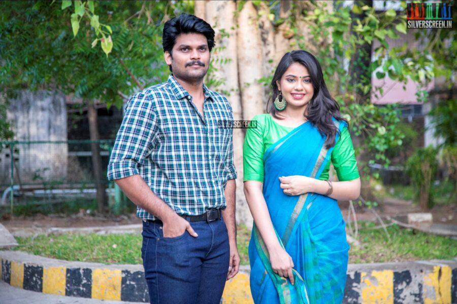 Harishankar, Monica Chinnakotla At The 'Thozhar Venkatesan' Audio Launch