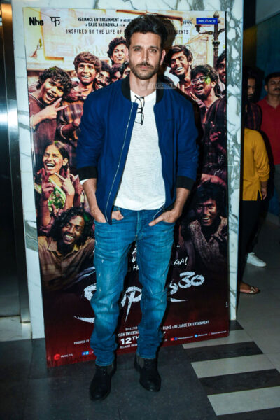 Hrithik Roshan At The 'Super 30' premiere