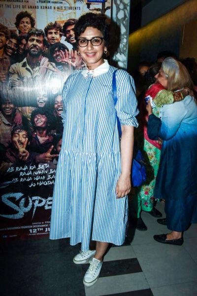 Sonali Bendre At The 'Super 30' premiere
