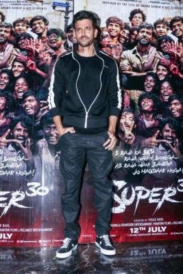 Hrithik Roshan At The 'Super30' Premiere