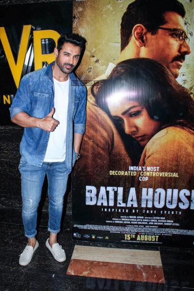 John Abraham At The 'Batla House' Trailer Launch
