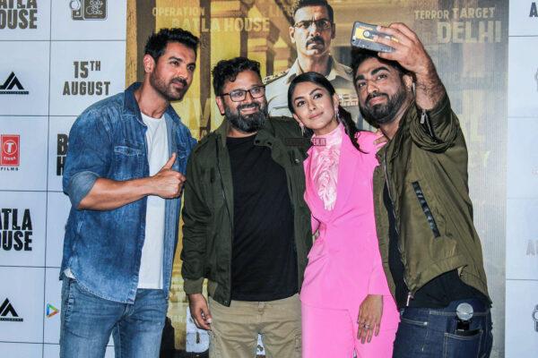 John Abraham, Mrunal Thakur At The 'Batla House' Trailer Launch