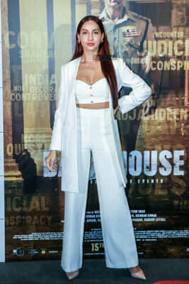 Nora Fatehi At The 'Batla House' Trailer Launch